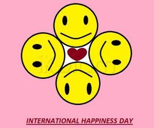 Rangoli: International Happiness Day