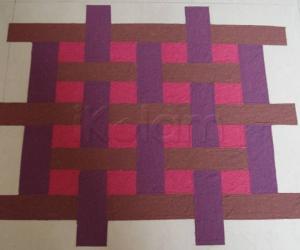 Puzzle Kolam -Floor Version