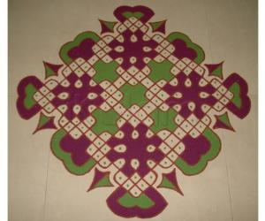 A  Kolam for Friendship Day