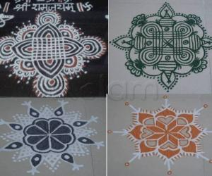 Rangoli: Kolams for Golu