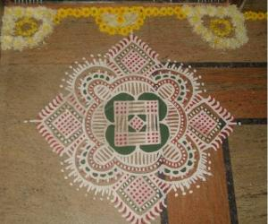 Kolam for Karthigai-1