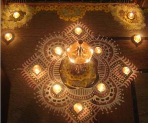 Kolam for Karthigai-2