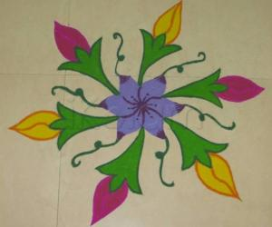 Rangoli: Lets get growing -iKolam Garden