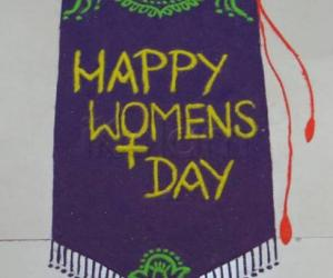 Rangoli: Happy International Women's Day