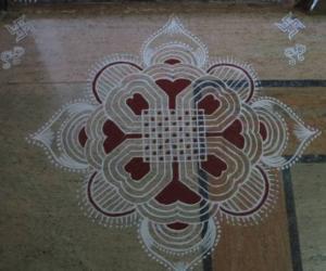 Rangoli: Happy Ugadi -Gudi Padwa