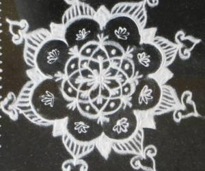 Rangoli: Free Hand Design-Small kolams