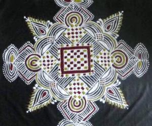 Rangoli: Padikolam -Aadi special -15