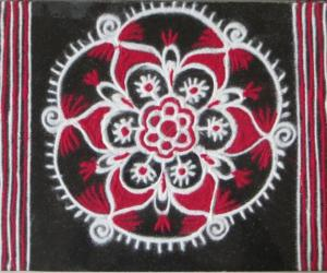 Free hand Design -small kolams
