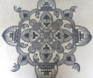Navarathri Specials- Kolam 3