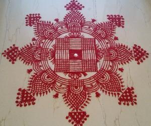 Rangoli: Navarathri Kolams 2016