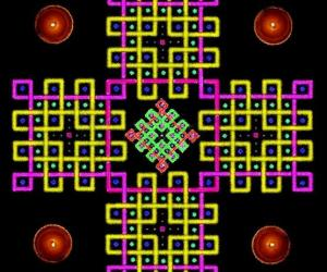 Rangoli: 4x4 squared