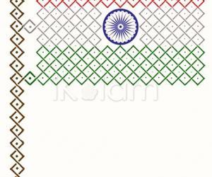 Rangoli: May the Republic of India prosper!