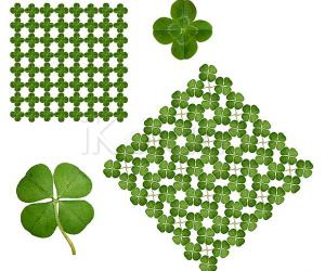 May the luck of the Irish rub on you today!