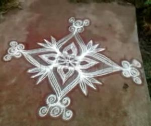 A Simple Kolam on a Friday
