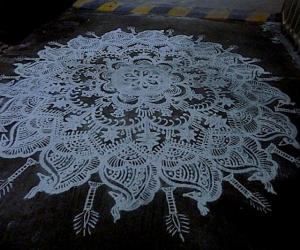 Rangoli: Happy christmas