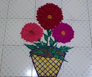 Dhahila flower