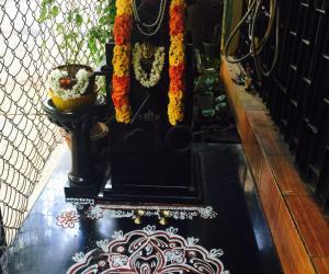 Rangoli: Thulasi