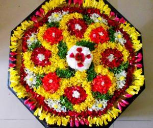 Rangoli: Thiruvonam_Pookkalam