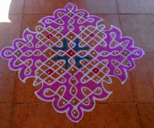 13-1 dotted kolam No. 7