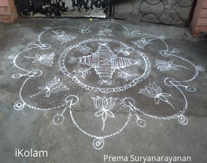 Rangoli: Navarathri kolangal