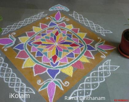 Rangoli: Design kolam