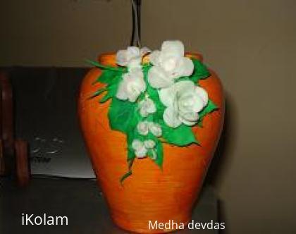 Rangoli: cold porcelain