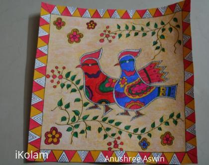 Rangoli: Madhubani Birds