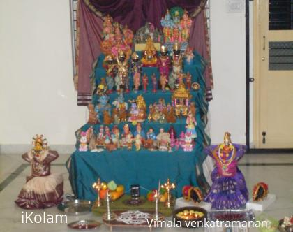 Rangoli: Navaratri  decoration 2010