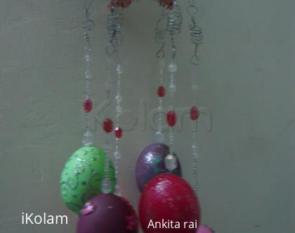 Rangoli: Easter gift