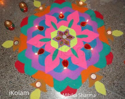 Rangoli: Diwali Rangoli 2010 - contest
