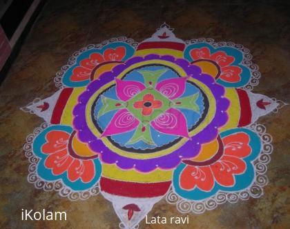 Rangoli: my deepawali rangoli