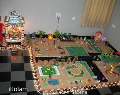 Rangoli: Diwali Kolu 2010
