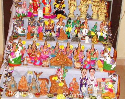 Rangoli: Golu 2 for golu contest