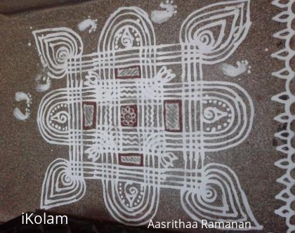 Rangoli: Gokulashtami Kolam