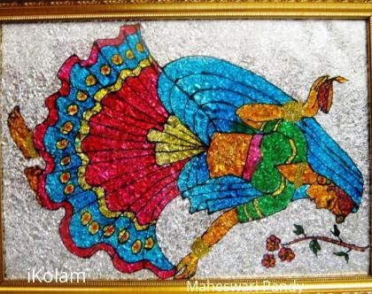 Rangoli: A Dancing Lady