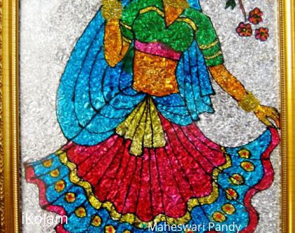 Rangoli: Lady Love