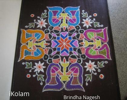 Rangoli: Mother's Day Kolam 2