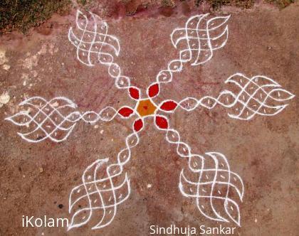Rangoli: Ms.Malar's Design