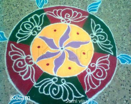 Rangoli: womens day celebrations