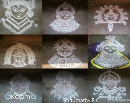 Rangoli: Navaratri Kolams