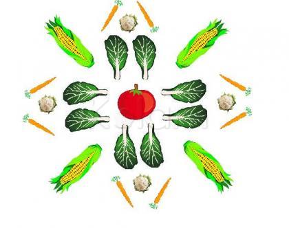 Rangoli: The Veggie Patch