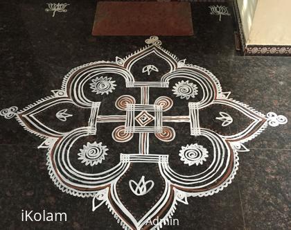 Rangoli: Navaratri Kolam
