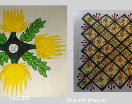 Rangoli: Freehand designs