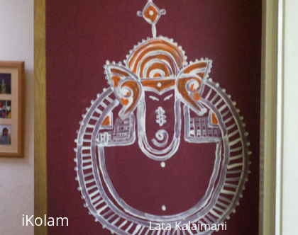 Rangoli: Mandana-Rajasthani rangoli