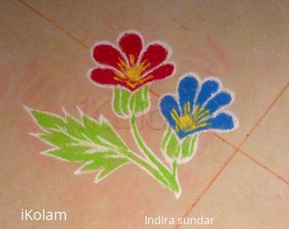Rangoli: Tiny Flowers