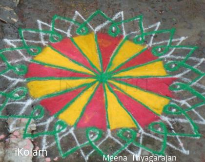 Rangoli: Diwali cracker