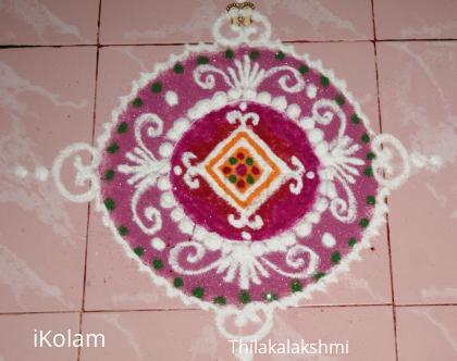 Rangoli: Sanskar Bharathi Rangoli