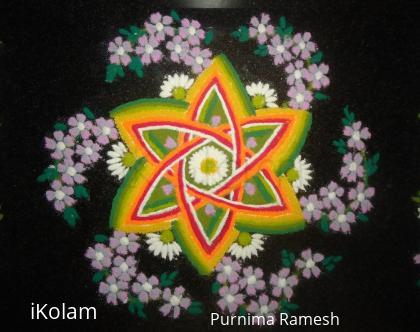 Rangoli: Onam & Varalakshmi Pooja Wishes