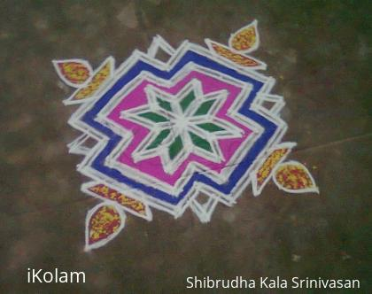 Rangoli: freehand thai