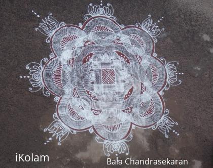 Rangoli: padi kolam for aadi 1st friday